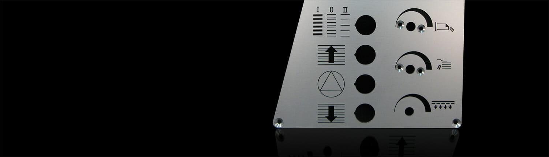 Frontplatte Maschine